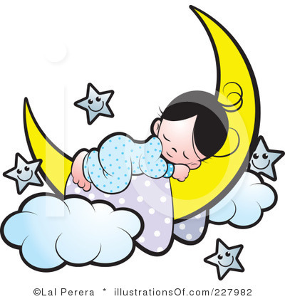 400x420 Asleep In Bed Clipart