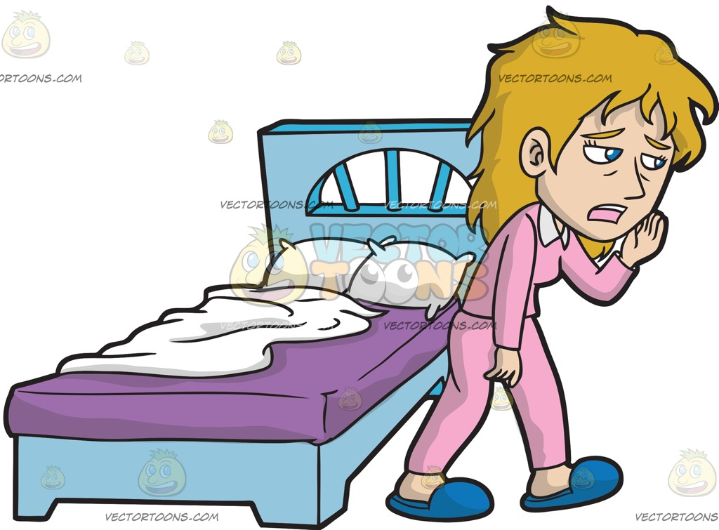 1024x755 Bed Clipart Awake