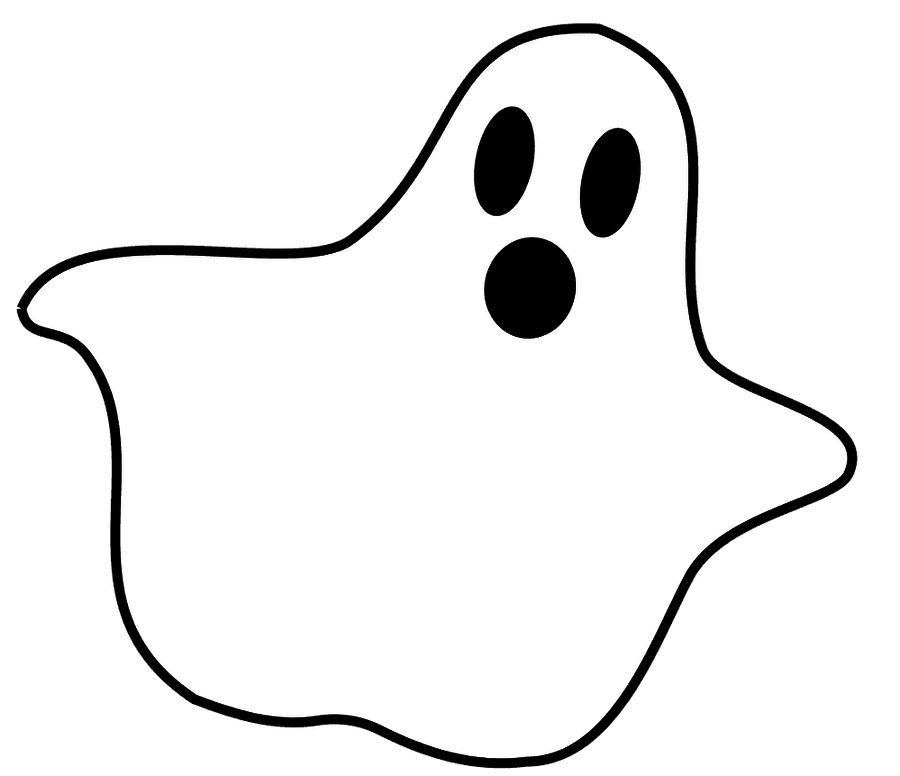 ghost clipart cute transparent face baby cliparts creepy clip cartoon clipartmag casper library webstockreview web