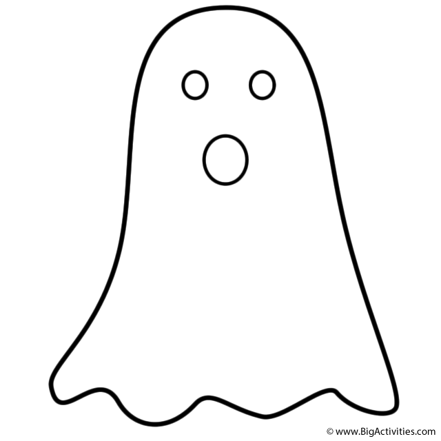 graphic regarding Ghost Template Printable titled Ghost Determine Cost-free obtain perfect Ghost Define upon