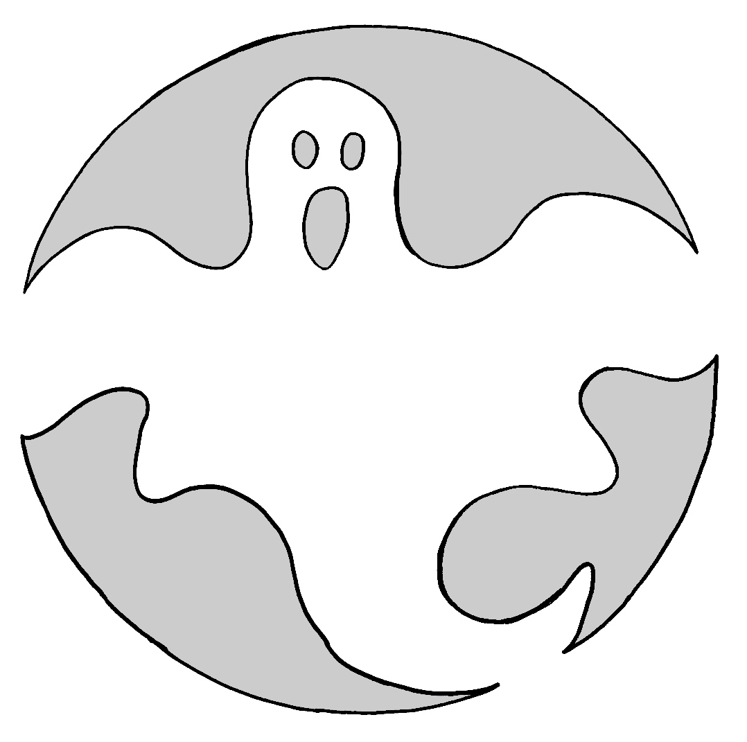Ghost Templates | Ghost Outline Free Download Best Ghost Outline On Clipartmag Com