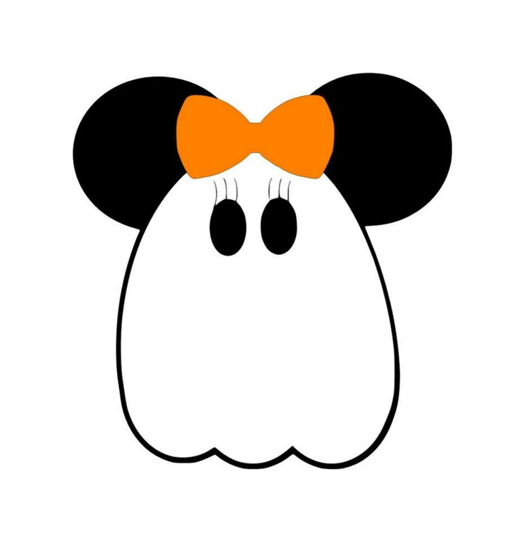 736x759 Mickey Ghost Clipart