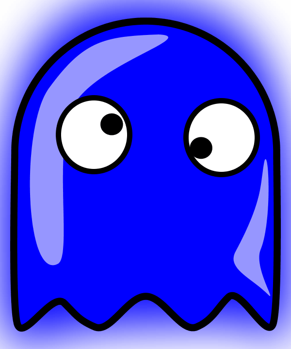 600x719 Colorful Ghost Cliparts 196403