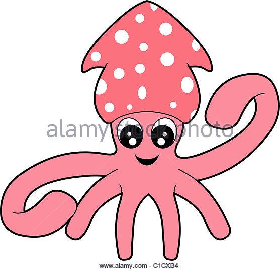 557x540 Cartoon Squid Stock Photos Amp Cartoon Squid Stock Images