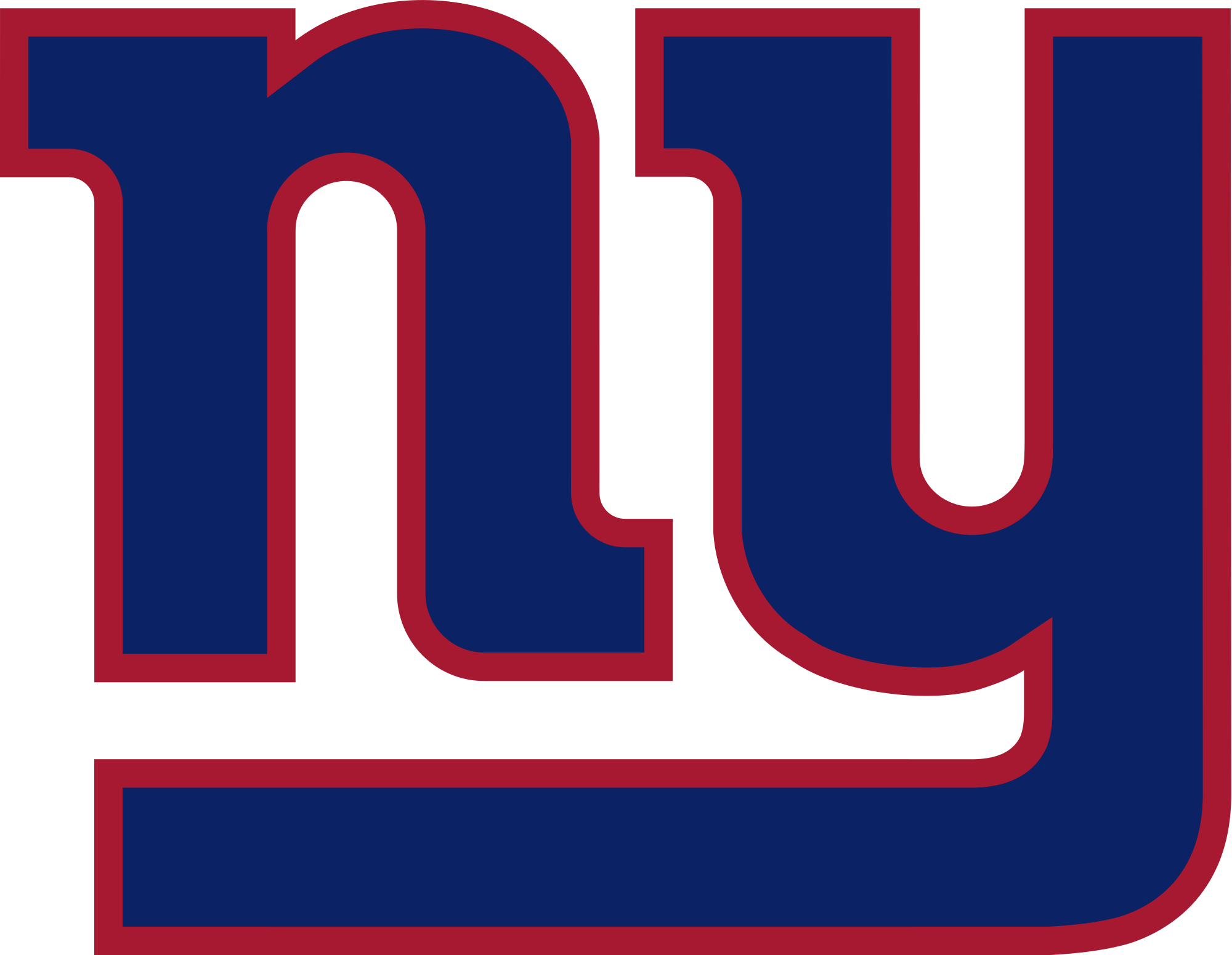 2000x1550 Football Clipart Ny Giants