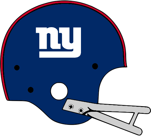 511x460 New York Giants Helmet History Giants Custom Refurbished Helmet