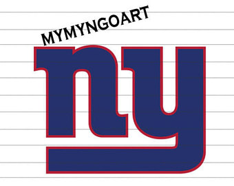 340x270 New York Giants Logo Etsy