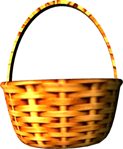 411x500 Clipart Of Basket