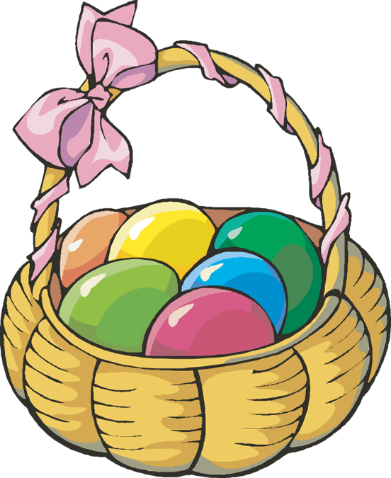 552x675 Gift Basket Easter Basket Clip Art 2