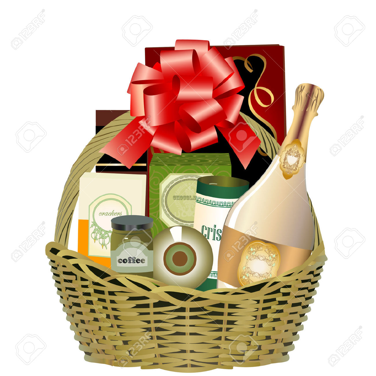 1300x1300 Best Gift Basket Clip Art
