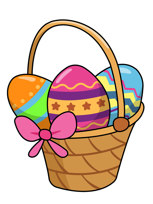 600x800 Easter Basket Clipart Many Interesting Cliparts
