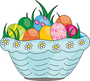 300x270 Free Easter Basket Clipart Image 0515 1003 2004 3502 Easter Clipart