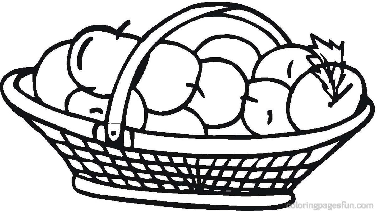 1426x800 Apple Basket Clipart Bay 2