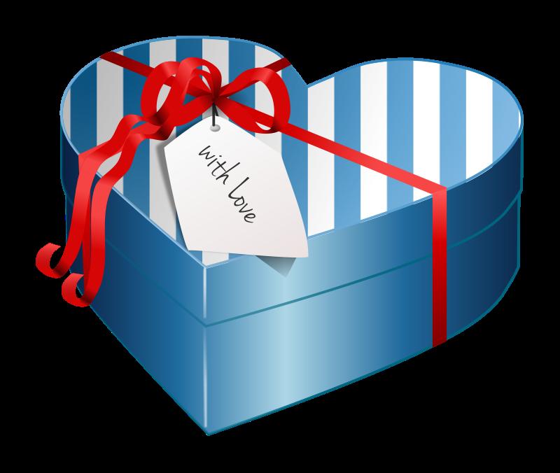 800x676 Gift Box Clipart