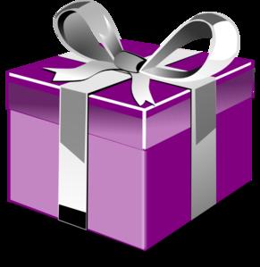 291x299 Present Box 2 Clip Art