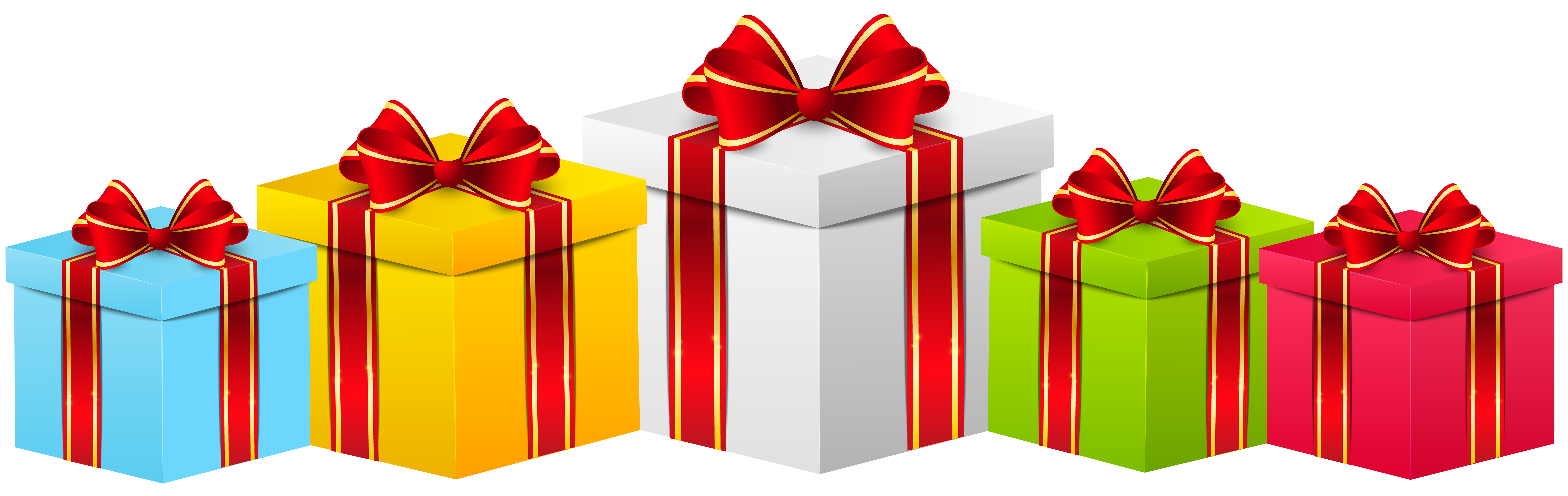 Gift Boxes Clipart | Free download on ClipArtMag