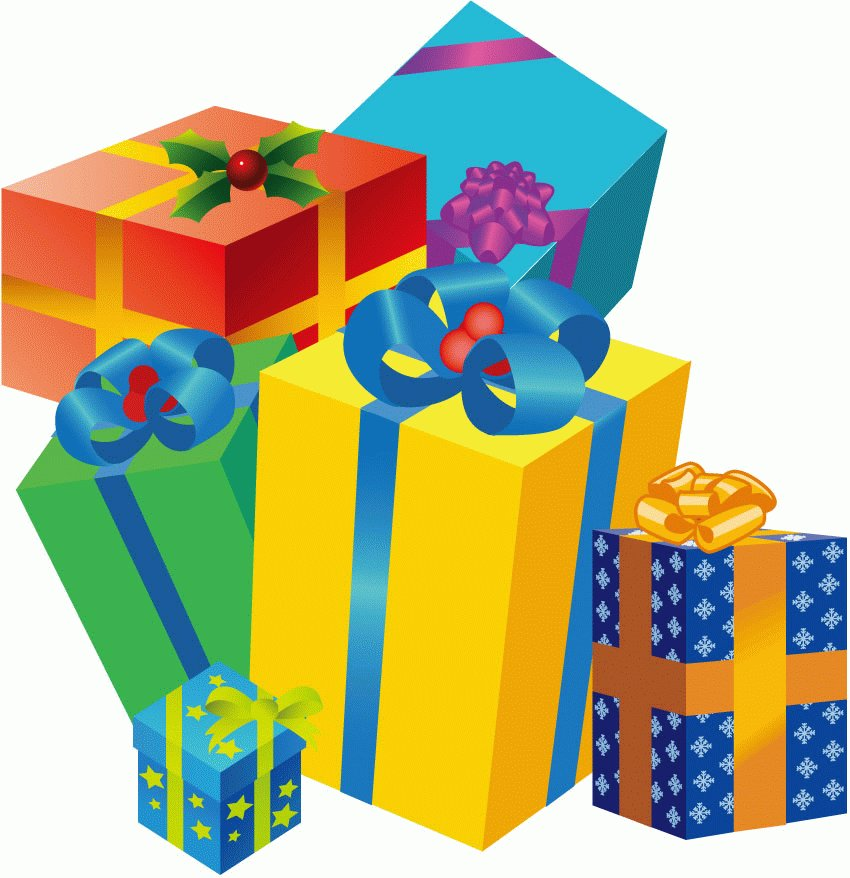 850x878 Gift Clipart Cartoon