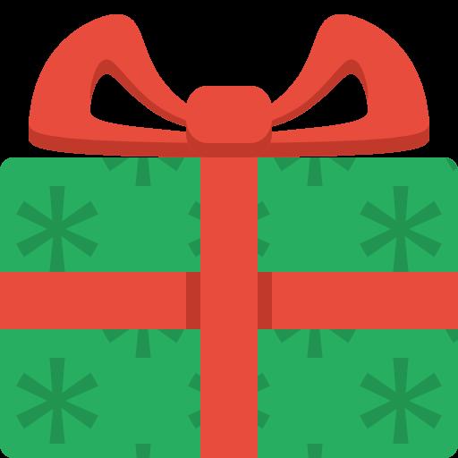 512x512 Christmas Gift Clip Art