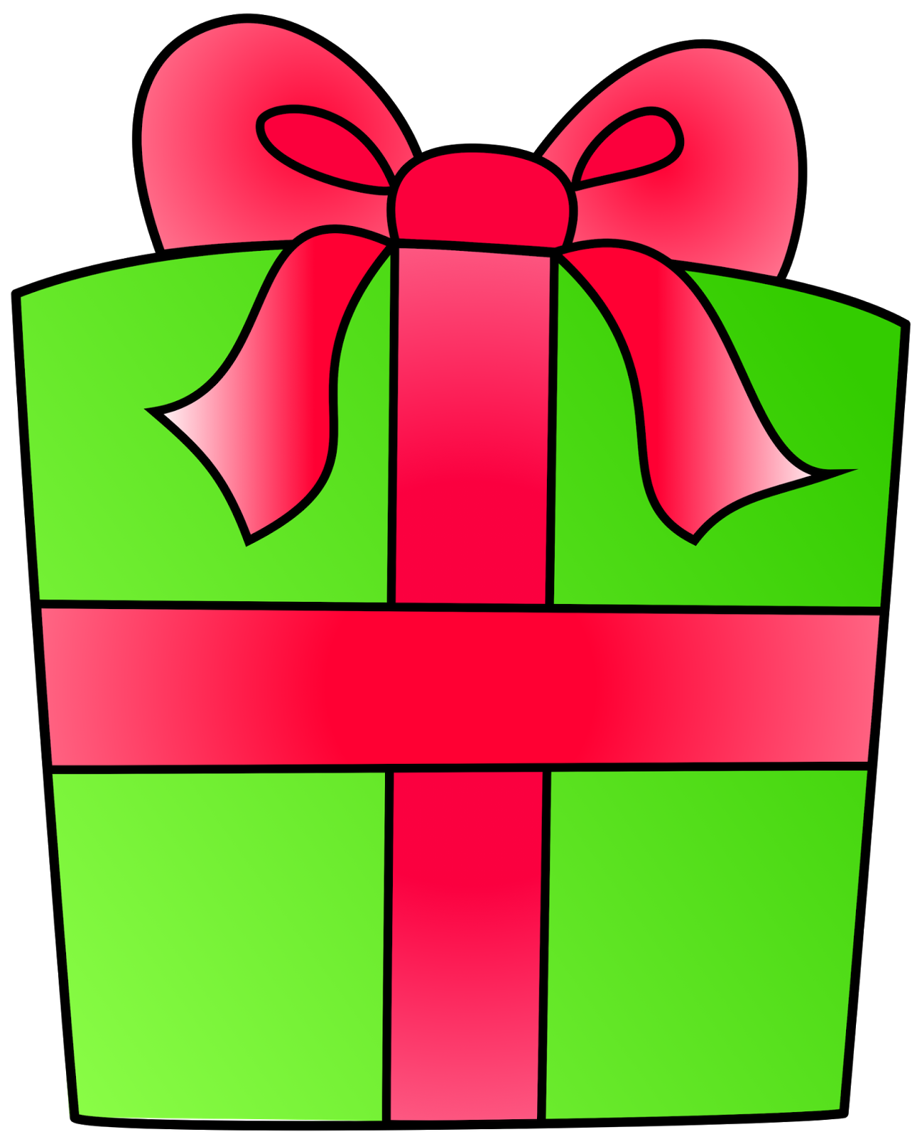 1298x1600 Gift Birthday Present Clip Art Free Clipart Images