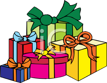 350x274 Gift Clipart Cartoon