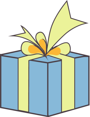 308x400 Gift T Clipart Free Images 7