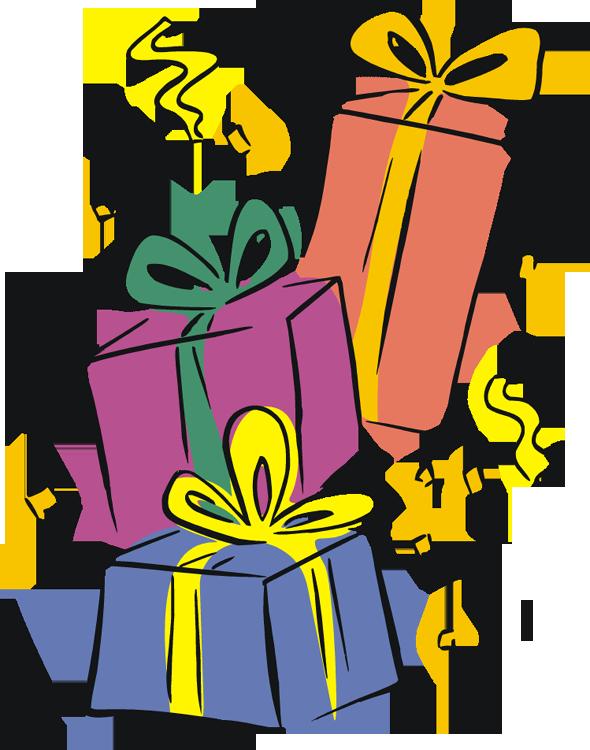 590x750 Birthday Gift Clip Art