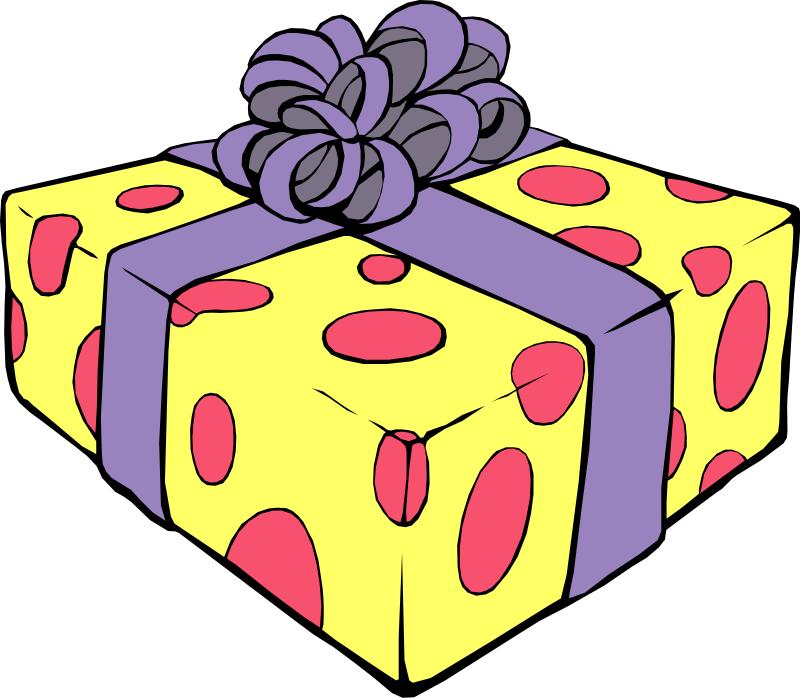 800x699 Birthday Present Clip Art Clipart Panda