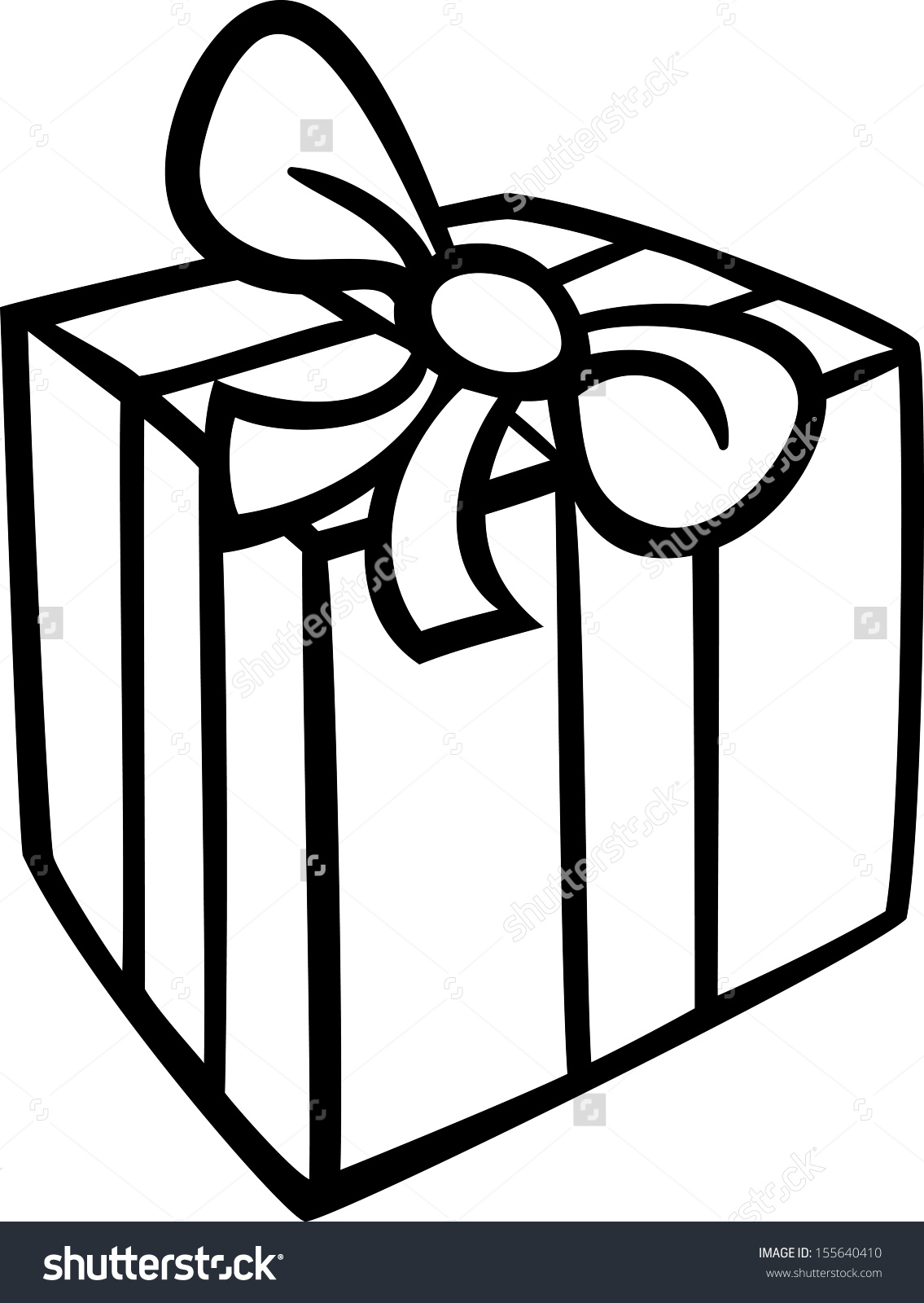 1135x1600 Gift Clipart Black And White