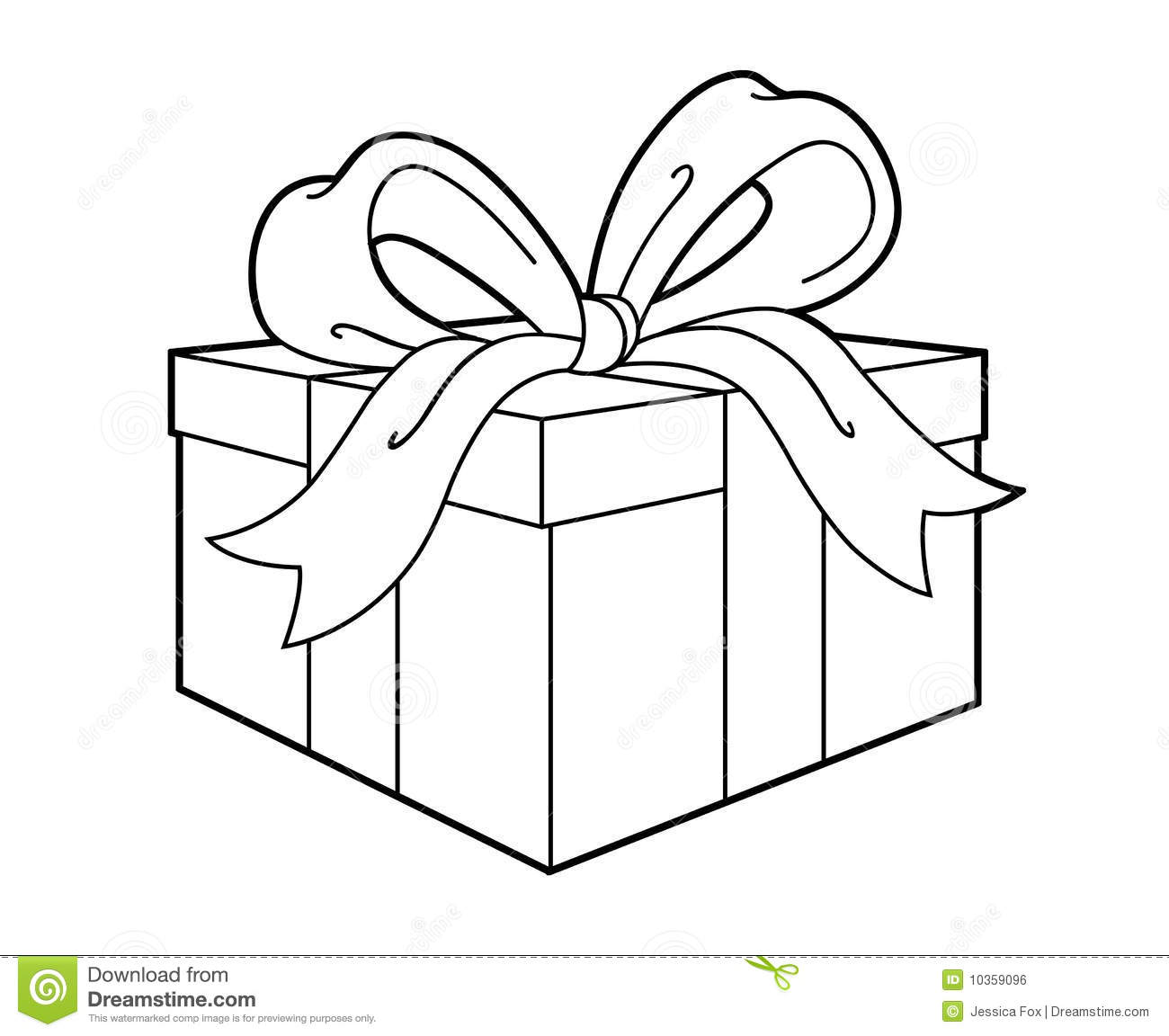 1300x1152 Gift Clipart Outline