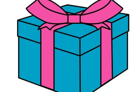 450x300 Clipart Of Gift Box Amp Clip Art Of Gift Box Images