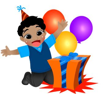 340x309 Gift Clipart Birthday Celebration