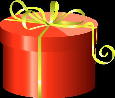 400x342 Yellow Clipart Gift Box