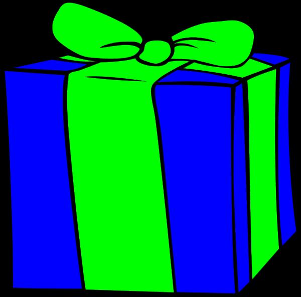 600x593 Gift Birthday T Clip Art Clipartfest 2