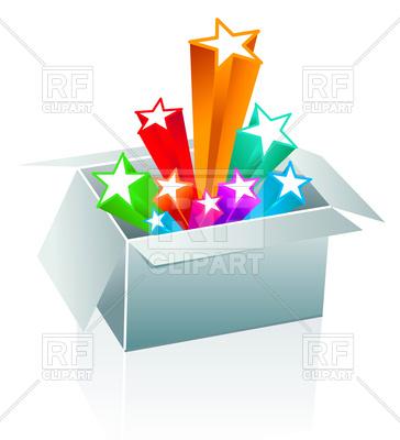 364x400 Open Gift Box