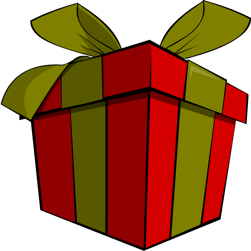 804x804 Christmas Gift Clipart