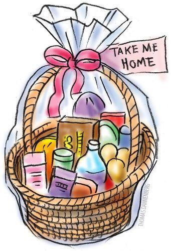 341x500 Clip Art Gift Baskets Clipart