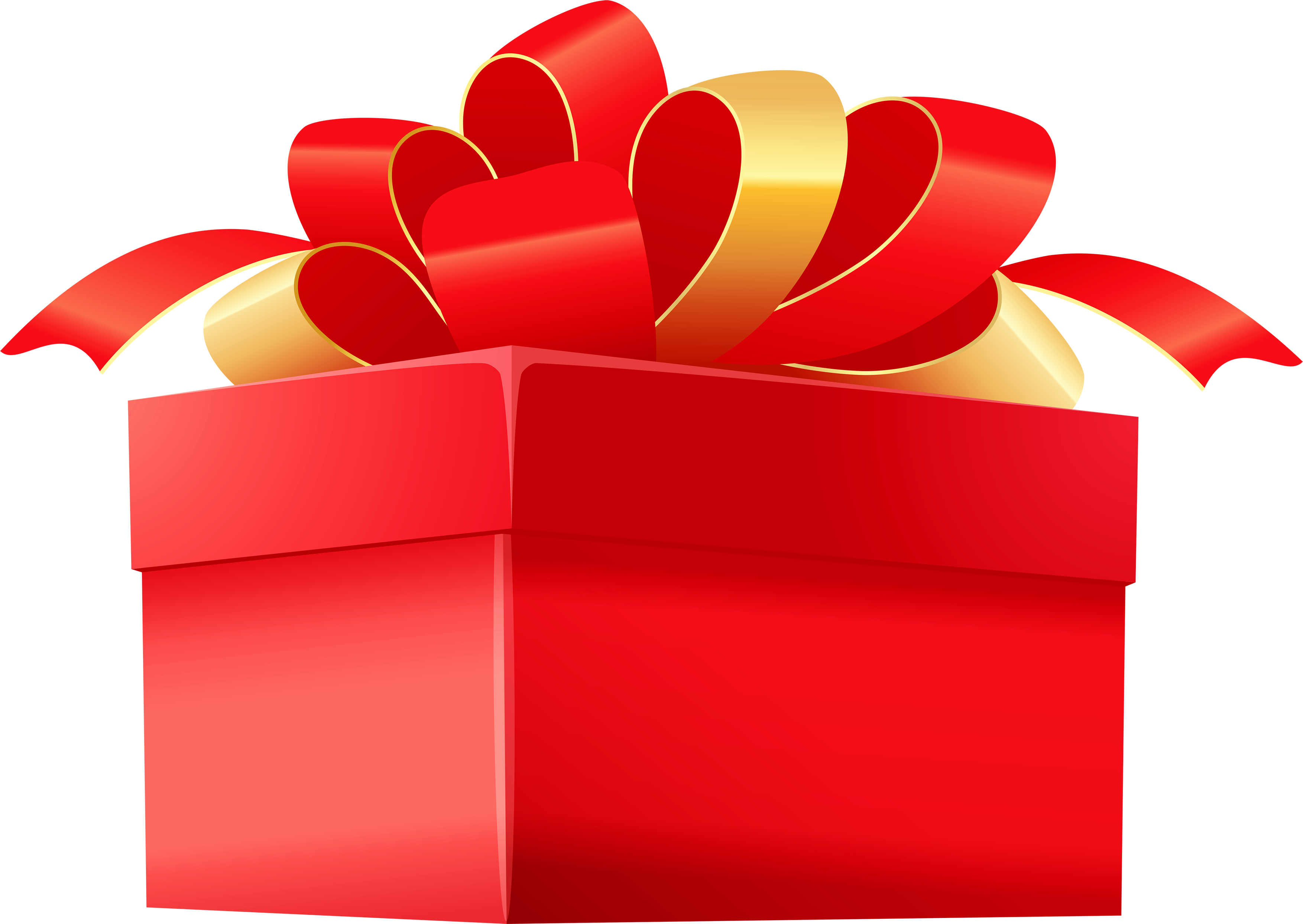3507x2488 Gift Box Eighteen Isolated Stock Photo By