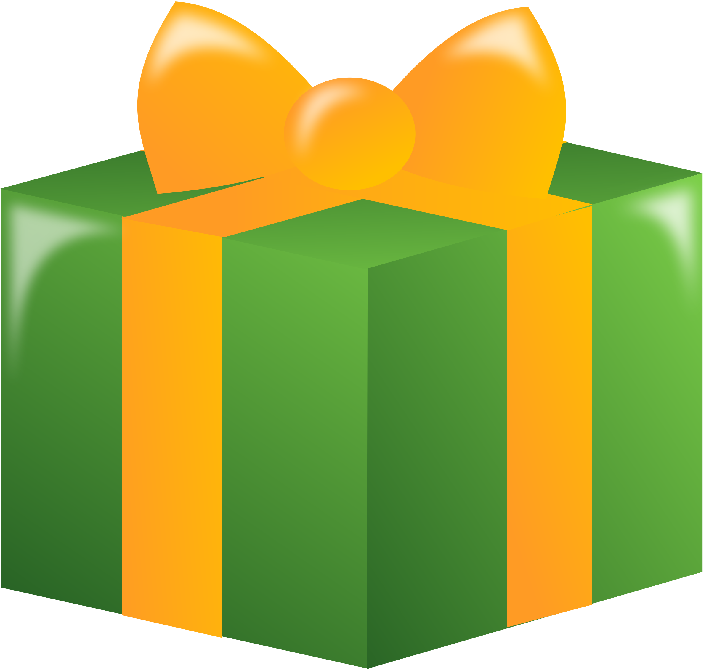 2394x2259 Gift Clipart Big And Small