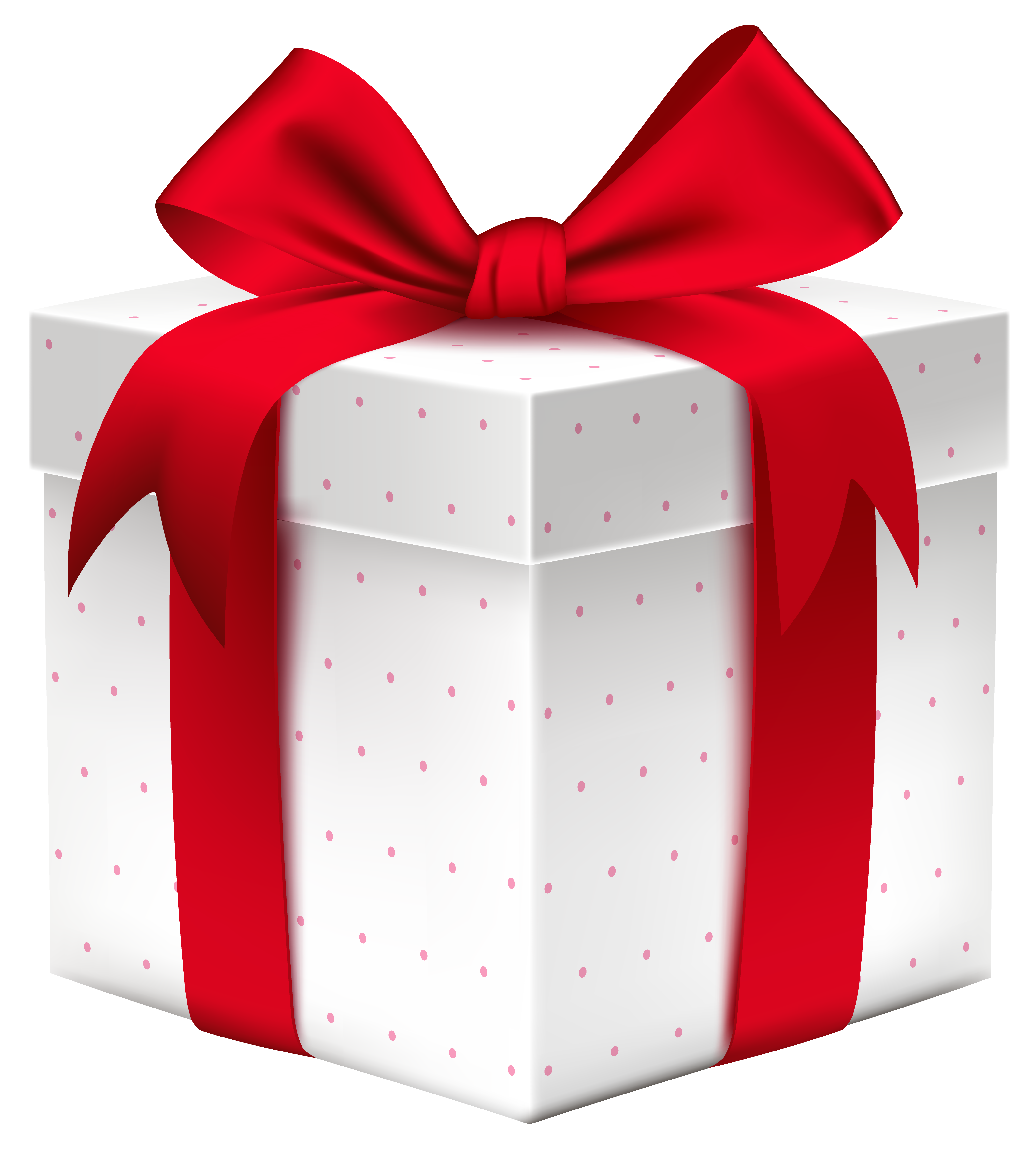 4216x4688 White Gift Box With Red Bow Png Imageu200b Gallery Yopriceville