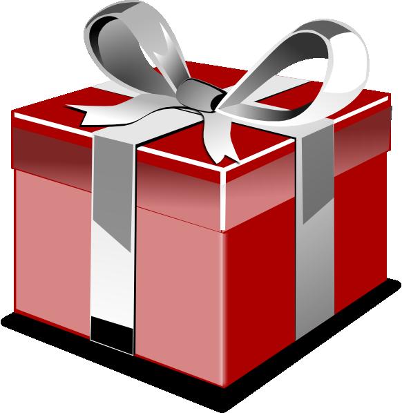 582x598 Birthday Gift Clipart