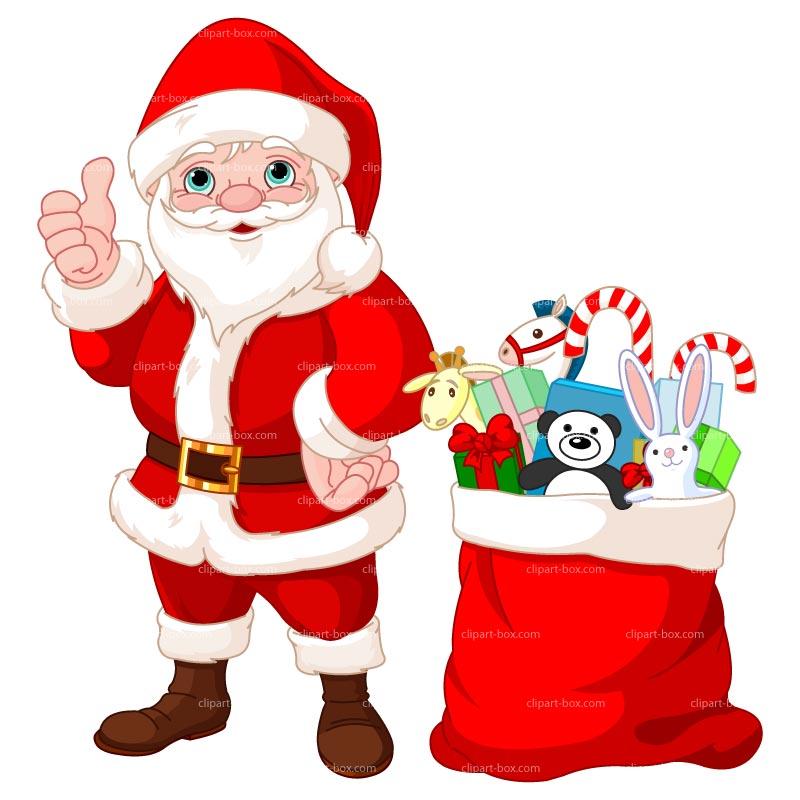 800x800 Gift Clipart Santa Claus