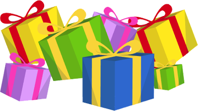 400x224 Christmas Presents Clipart