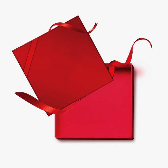 650x651 Open Gift, Red Gift Box, Opened, Ribbon Png And Psd File For Free