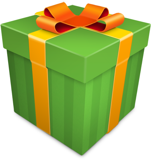 484x512 Christmas Gift Green Icon