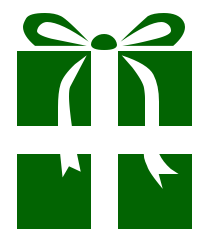 204x242 Free Christmas Gifts Clipart