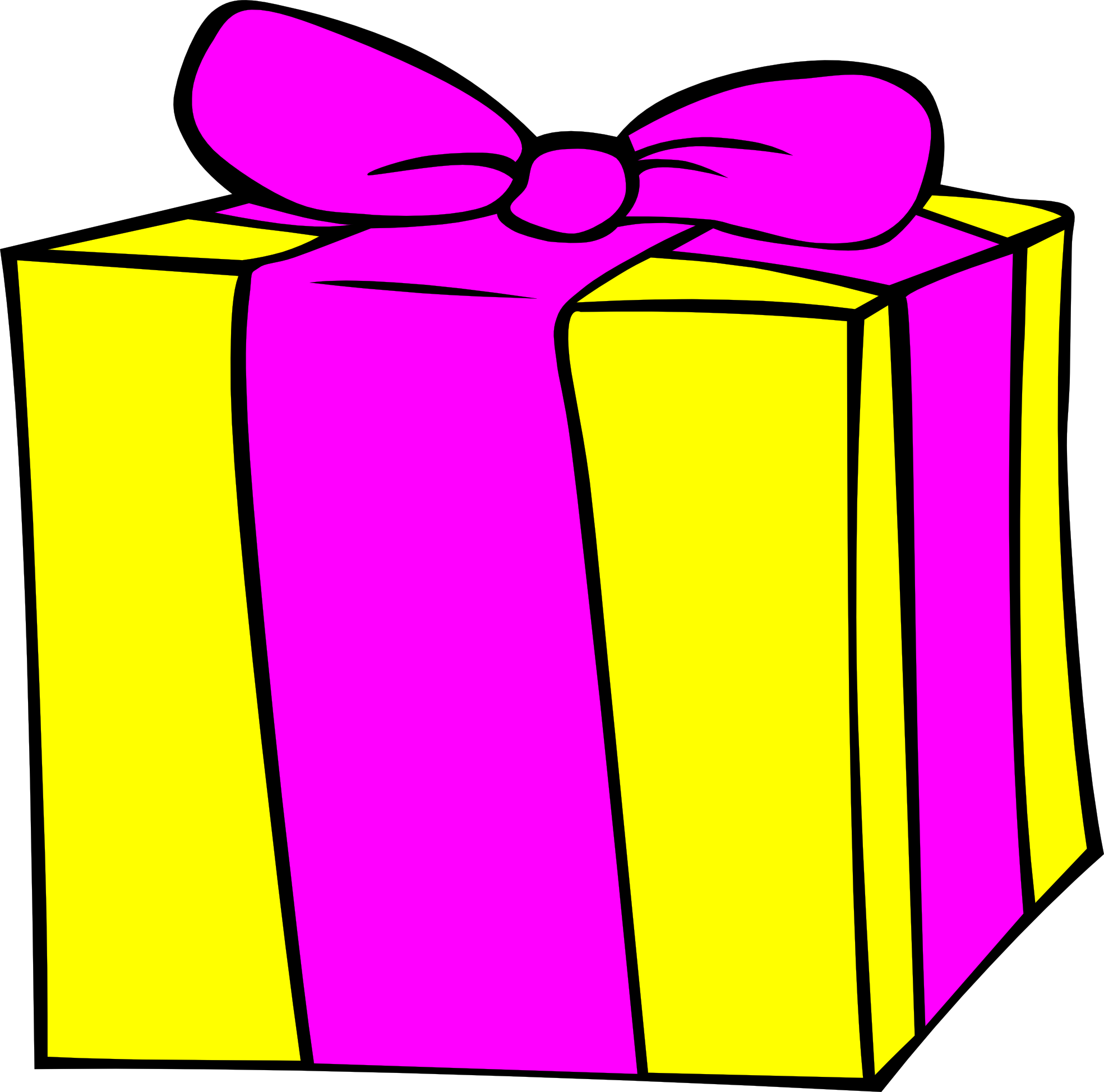 1969x1948 Gift Clipart Animated