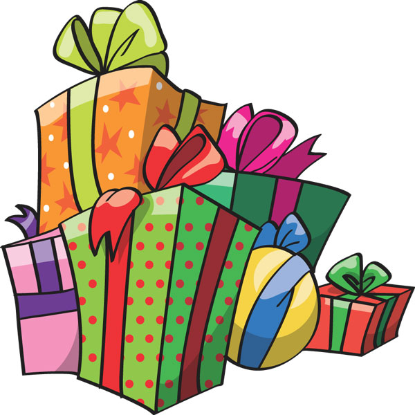 600x600 Gift Clipart Wrapped Present