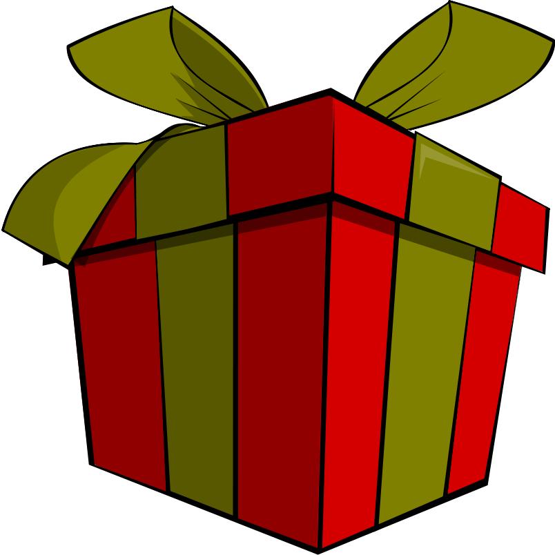 804x804 Christmas Gift Clip Art
