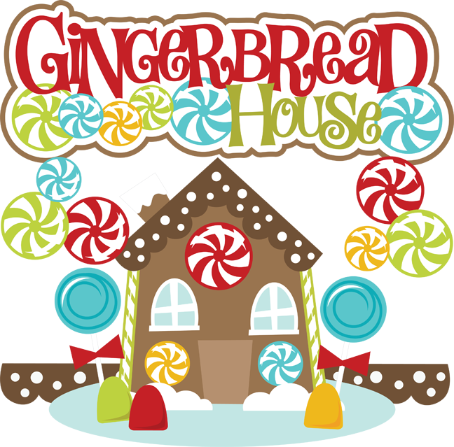 648x639 Free Gingerbread House Clipart