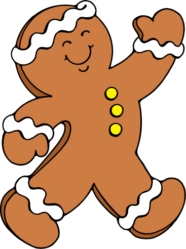 367x492 Free Gingerbread Man Clipart Pictures Clipartix 4